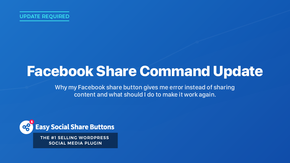 How to Fix the Facebook Share Button Error Message That